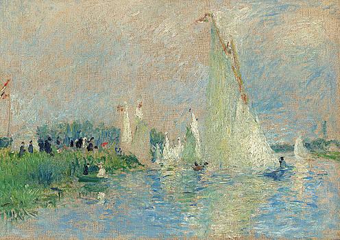 Auguste Renoir - Regatta at Argenteuil