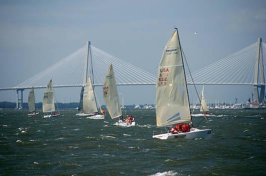 Susanne Van Hulst - Regatta in Charleston Harbor