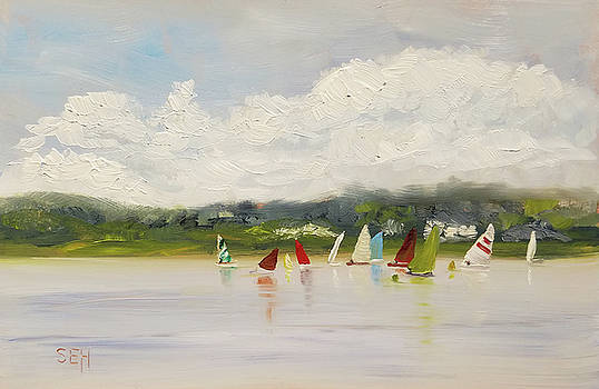 Regatta by Susan E Hanna