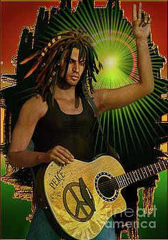 Reggae Peace Man by Shadowlea Is