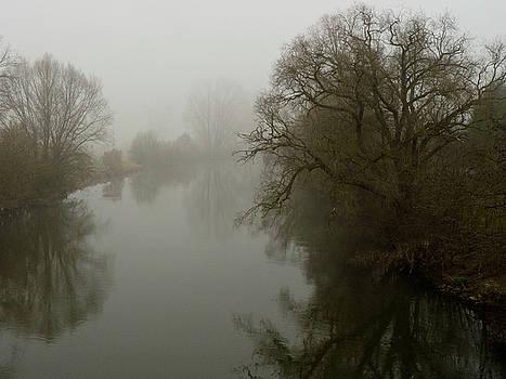 Regnitz im Nebel by Alexander A Beyer