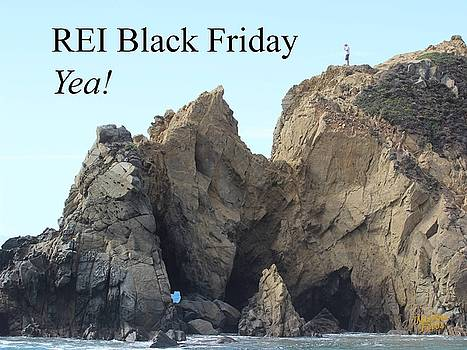 REI Black Friday by Gary Canant