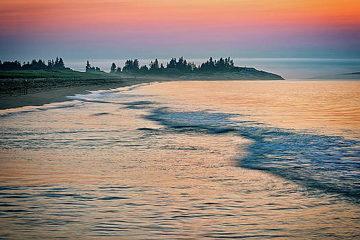 Mile Beach Shoreline by Rick Berk