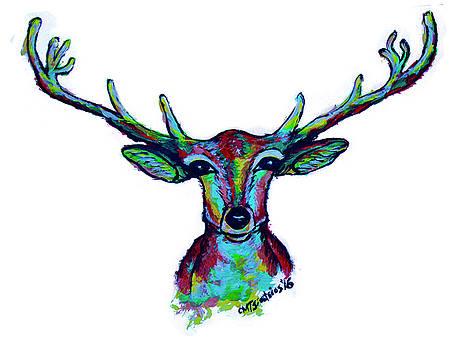 Reindeer by Carol Tsiatsios