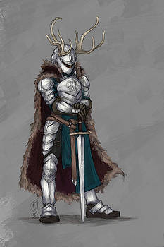 Reindeer Knight by Brandy Woods