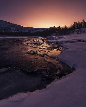 Reisadalen Sunrise by Tor-Ivar Naess