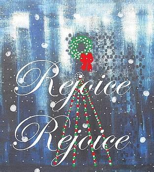 Rejoice - Close-Up of Original by Diane Pape