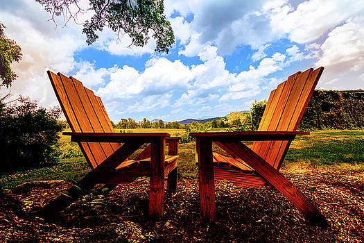 Debra and Dave Vanderlaan - Relaxation Under the Oaks