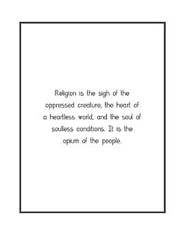 Religion is the sigh of... by Famous Quotes