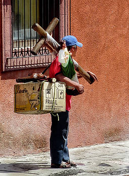 Religious Art Salesman by Barry Weiss