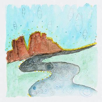 Remembrance Ordinary/NonOrdinary, Sedona AZ, 2017 by Damini Celebre