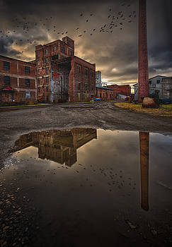 Remnants of the old Starch Factory by Jakub Sisak