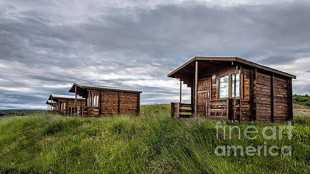 Remote Cabins Myvatn Iceland by Edward Fielding