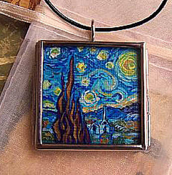 Rendition of Starry Night 2 by Dana Marie
