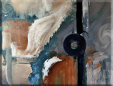 Renewed Abstract Painting by Lisa Kaiser