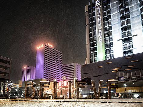Reno Snow by Tony Fuentes