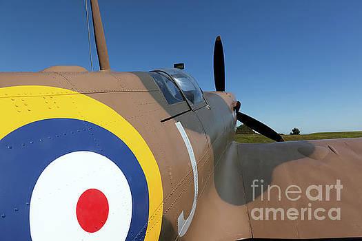 Replica Mk1 Supermarine Spitfire by John Gaffen