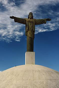 Reimar Gaertner - Replica statue of Christ the Redeemer on top of Mount Isabel de