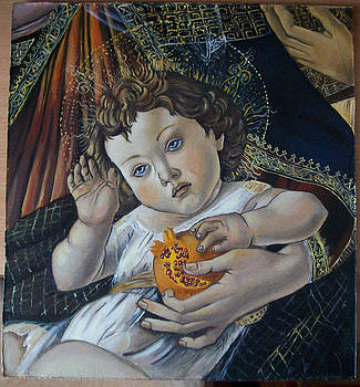 reproduction of Botticelli by Larisa M