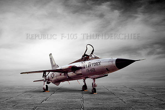 Republic F-105 Thunderchief by Peter Chilelli