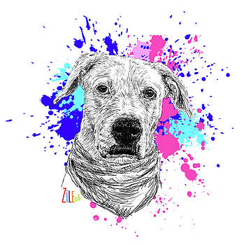 Rescue Dog @arwenunaperradoptada by ZileArt