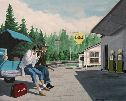 Rest Stop by Dave Rheaume