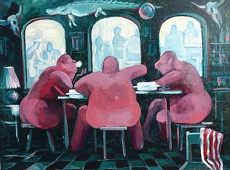Restaurant by Sergey Zinovjev