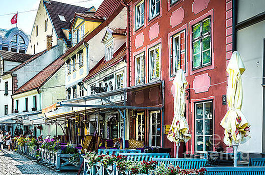 RicardMN Photography - Restaurants in the old town of Riga
