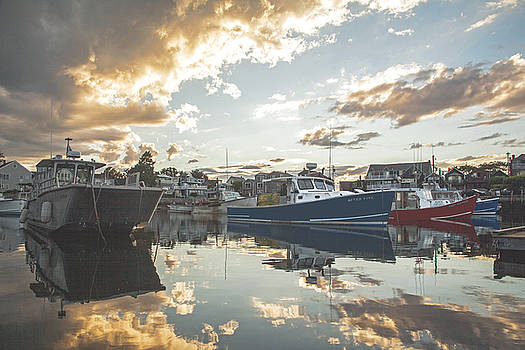 Resting Fishing Boats by Elaine Somers