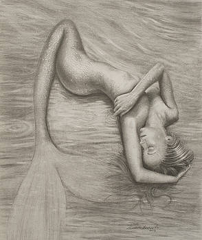Resting Mermaid by Leonardo Pereznieto