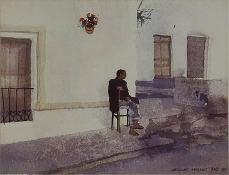 Resting Spaniard by Charles Hawes