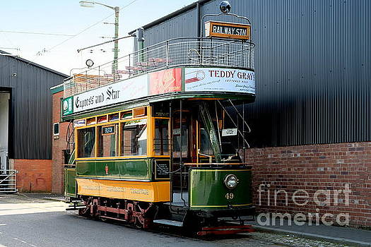 Antique Restored Tram by John Chatterley
