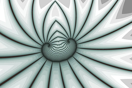 Restrained Bow Spiral by Mark Eggleston