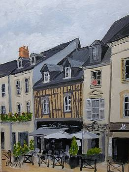 Resturants in Amboise by Fred Urron