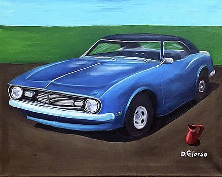 Reta and Blue by Dean Glorso