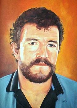 Retrato - Joaquin Henao by Jesus Alberto Arbelaez Arce
