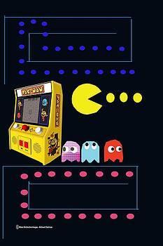 Retro 80's - Pac-Man by Michael Chatman