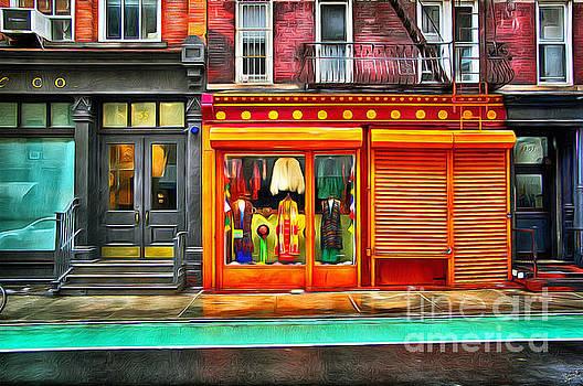 Retro Clothing Storefront 1 by Nishanth Gopinathan