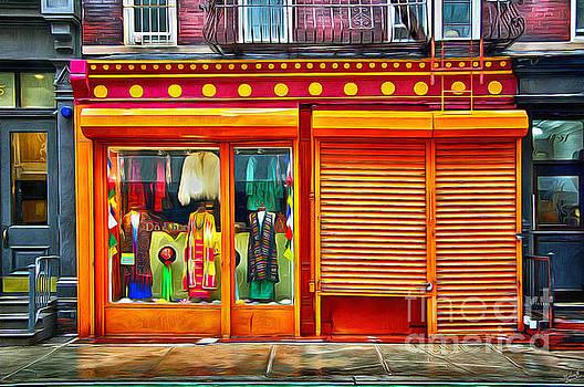 Retro Clothing Storefront 2 by Nishanth Gopinathan