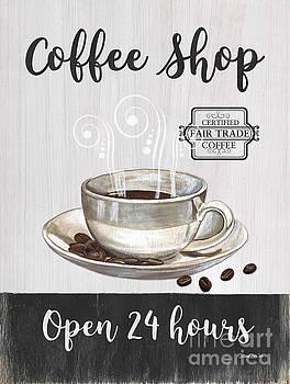 Retro Coffee Shop 1 by Debbie DeWitt