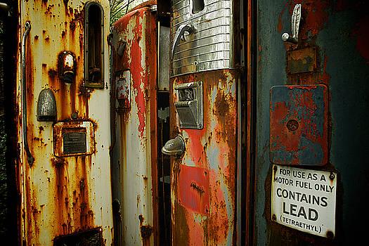 Retro Gas Pumps by Scott Krycia