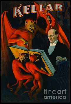 Retro Magic Poster 1894 by Padre Art