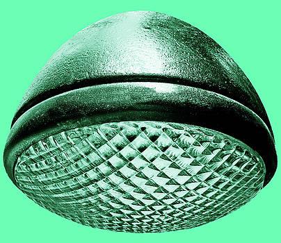 TONY GRIDER - Retro Mint Green Headlight