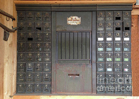 Retro Post Office Boxes by Wanda-Lynn Searles