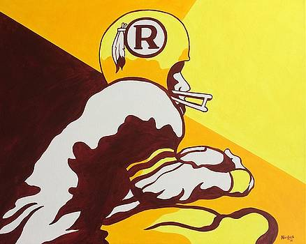 Retro Redskins by Paul Nichols