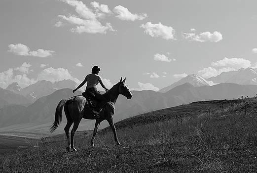 Retro-rider by Victoria Savostianova