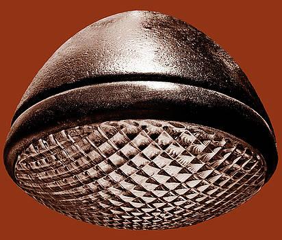 TONY GRIDER - Retro Rust Headlight