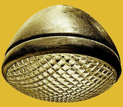 TONY GRIDER - Retro Saffron Yellow Headlight