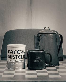 Retro Single Coffee Cafe by Philip A Swiderski Jr