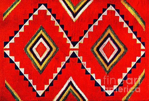 Retro Textile Design 1900 by Padre Art